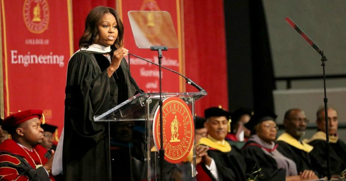 Michelle obama's phd thesis