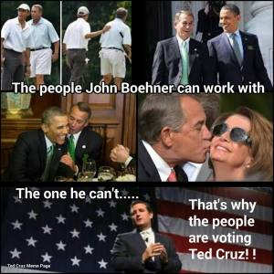 Boehner supports Trump and Cruz