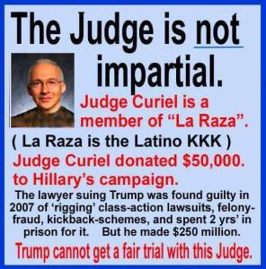 La Raza judge