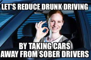 Reduce drunk driving
