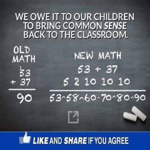 Common sense math
