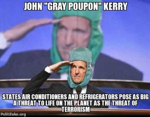 John Kerry air conditioners are dangerous