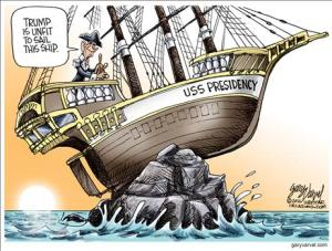 Obama at the helm