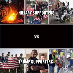 hillary-vs-trump-supporters